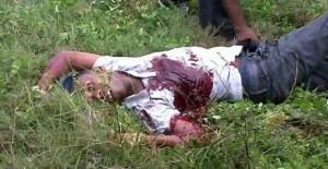 One of the dead gunmen.