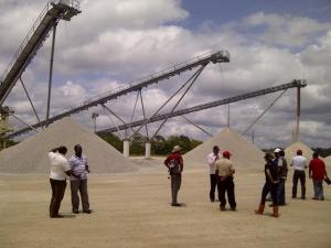 Members of the media were given a guided tour of BK's Quarry today. [iNews' Photo]