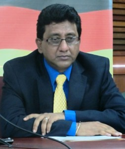 PPP Member, Anil Nandlall. [iNews' Photo]
