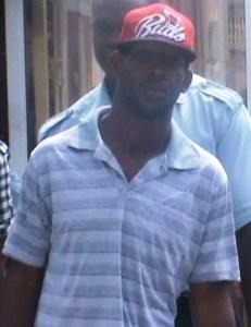 The accused: Emanuel Laurel