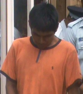Anthony Fernandes during his Court appearance. [iNews' Photo]