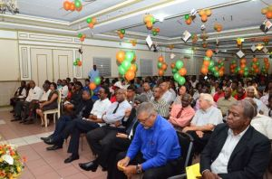 A section of the gathering at the Guyana Labour Union's 7th Triennial Delegates Congress