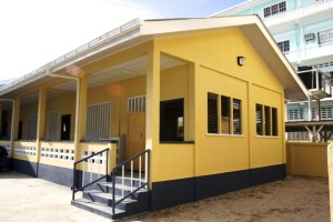 The newly commissioned East Street Nursery School