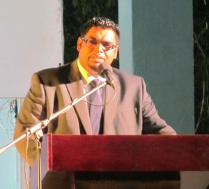 Minister Irfaan Ali.
