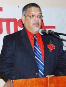 Former Chairman of the Private Sector Commission (PSC) Ramesh Dookhoo