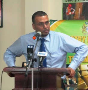 Natural Resources Minister, Robert Persaud. [iNews' Photo]