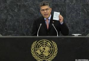 Foreign Minister Elías Jaua.