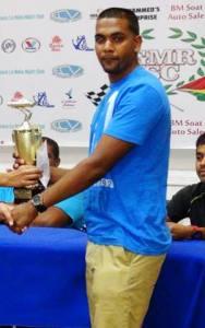 Richard Hamid 15 Second Class Winner. [Photo:  S.E.A.G. Productions]