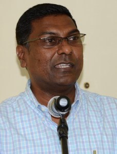 Chief Medical Officer , Dr. Shamdeo Persaud