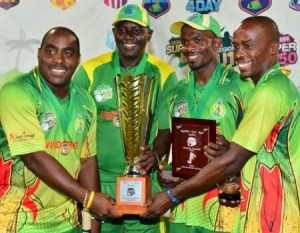 Winwards Win 2012 Super 50 tournament