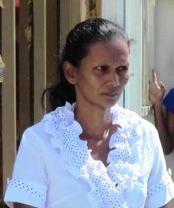 The accused: Dhanmattie 'Lalita' Persaud