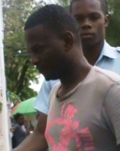 The accused, Renshan Monroe was remanded to prison. [iNews' Photo]