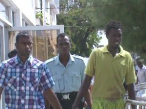 Saul (Green Shirt) Hemchal (check shirt)