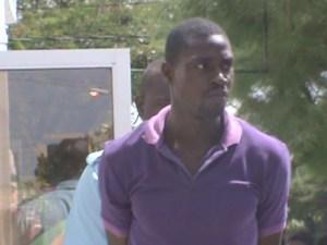 The accused: Devon Harris. [iNews' Photo]
