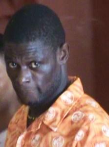 The accused, Kelvin Moore. [iNews' Photo]