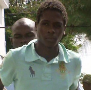 Junior Kenny was remanded to Prison. [iNews' Photo]
