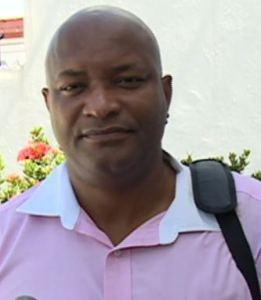 President of the Guyana Amateur Basketball Federation, Nigel Hinds.