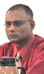 Public Relations Officer of GECOM, Vishnu Persaud.