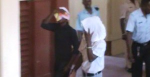 Two of the accused men. [iNews' Photo]