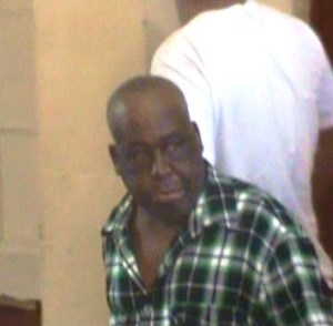 Winston Blades was remanded to prison. [iNews' Photo]