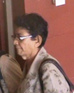 The accused, Bibi Sattaur. [iNews' Photo]