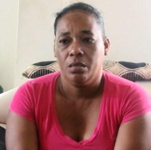Distraught Mother, Natasha David. [iNews' Photo]