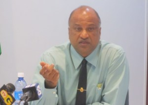 Deputy Police Commissioner and Crime Chief, Seelall Persaud.