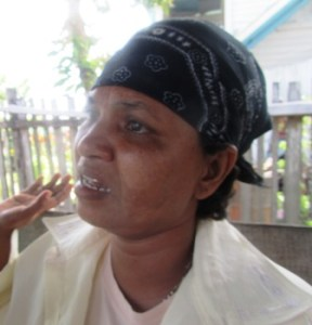 His aunt, Ramrattie Ronie. [iNews' Photo]