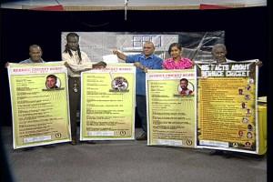 BCB Members Show Banners