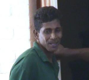 The accused, Derrick Persaud. [iNews' Photo]