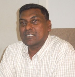 Chief Medical Officer, Dr. Shamdeo Persaud.