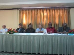 GECOM Commissioners. [iNews' Photo]