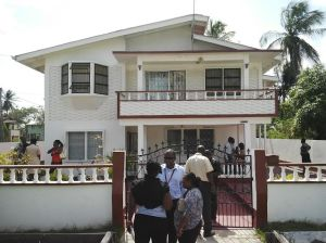 The house in which Joyce Lewis was found dead. [iNews' Photo]