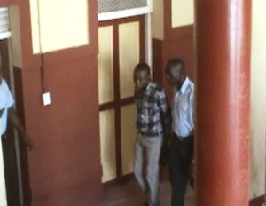 19 - year - old Shawn Barrow was remanded to prison. [iNews' Photo]