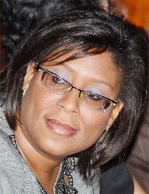 AFC Parliamentarian, Cathy Hughes.