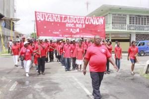 Labour march