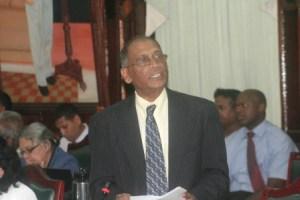 Minister of Agriculture, Dr Leslie Ramsammy