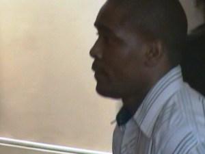 Roberto Cosburg was remanded to prison. [iNews' Photo]