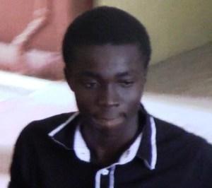 Robbery accused, Akeem Stanley.