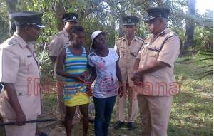 Senior Officers meet with the mother of the shot teenager.