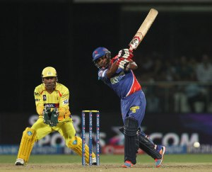 Kedar Jadhav muscled two sixes and a four in the final over