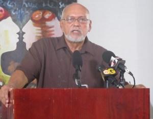 Head of State, Donald Ramotar. [iNews' Photo]