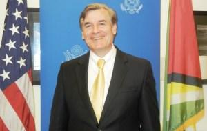 US Ambassador to Guyana, Brent Hardt.