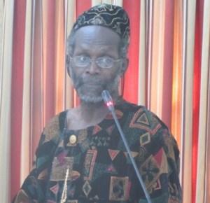 Executive Member of the Working People's Alliance (WPA) Tacuma Ogunseye. [iNews' Photo]