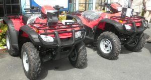 The All Terrain Vehicles.