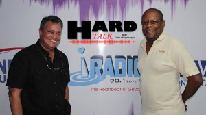 Chairman of the Roraima Group of companies, Captain Gerald Gouveia and Veteran Journalist, Enrico Woolford.