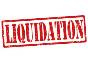 Liquidation stamp
