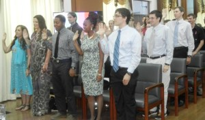 Some of the Peace Corps Volunteers. [iNews' Photo]
