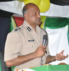 Police Commissioner, Seelall Persaud.