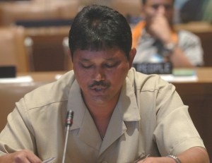 Commissioner of Forest, James Singh.